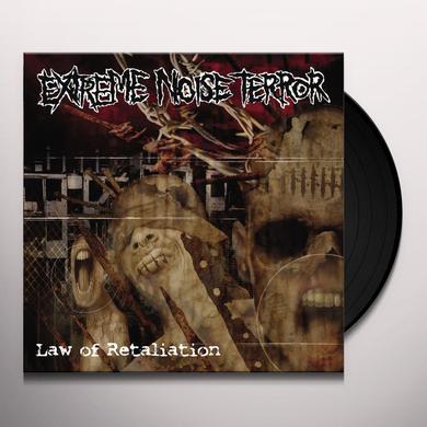 Extreme Noise Terror LAW OF RETALIATION Vinyl Record