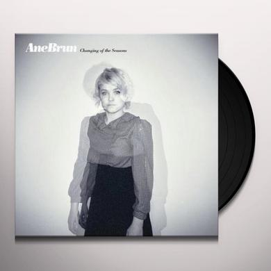 Ane Brun CHANGING OF THE SEASONS Vinyl Record - Sweden Release