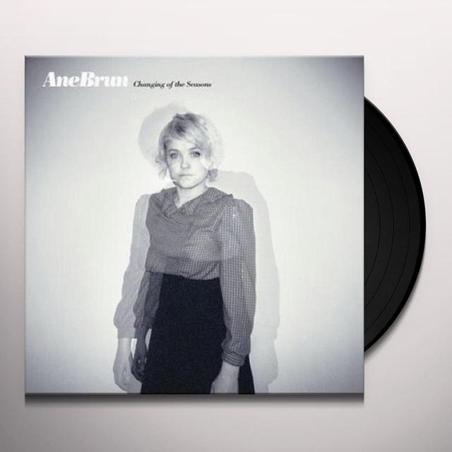 Ane Brun CHANGING OF THE SEASONS Vinyl Record - Sweden Import