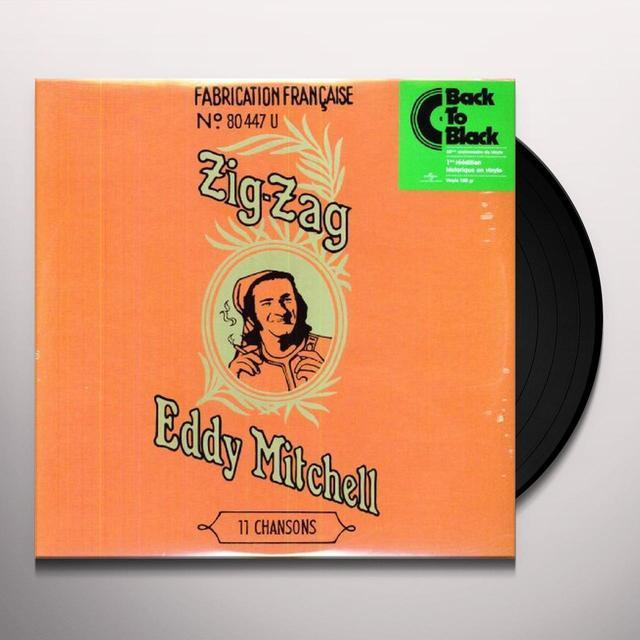 Eddy Mitchell ZIG ZAG (FRA) Vinyl Record