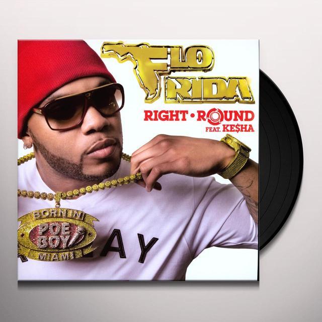 Flo Rida RIGHT ROUND (GER) Vinyl Record