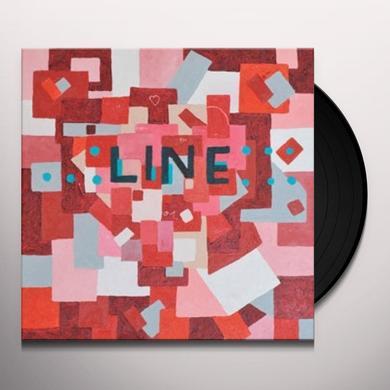 Line HEARTS Vinyl Record