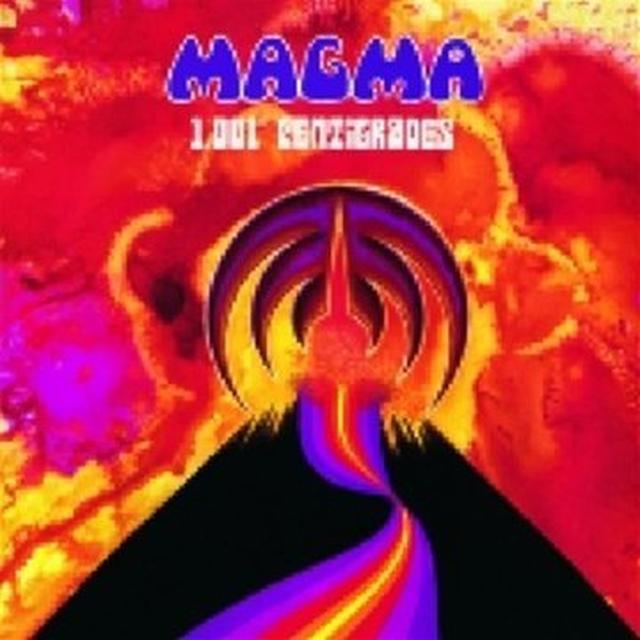 Magma 1.001 CENTIGRADES (FRA) Vinyl Record