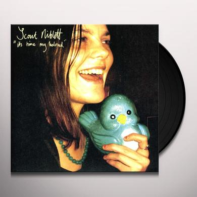 Scout Niblett IT'S TIME Vinyl Record