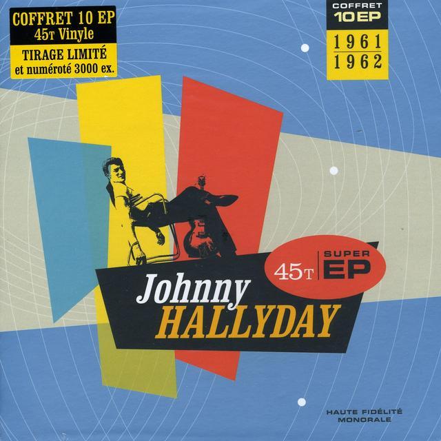 Johnny Hallyday COFFRET 10EP 1961-62 (FRA) Vinyl Record