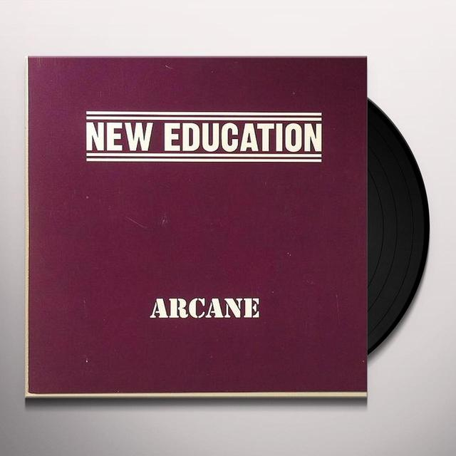 New Education ARCANE Vinyl Record