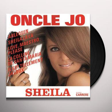 Sheila ONCLE JO Vinyl Record - Portugal Import
