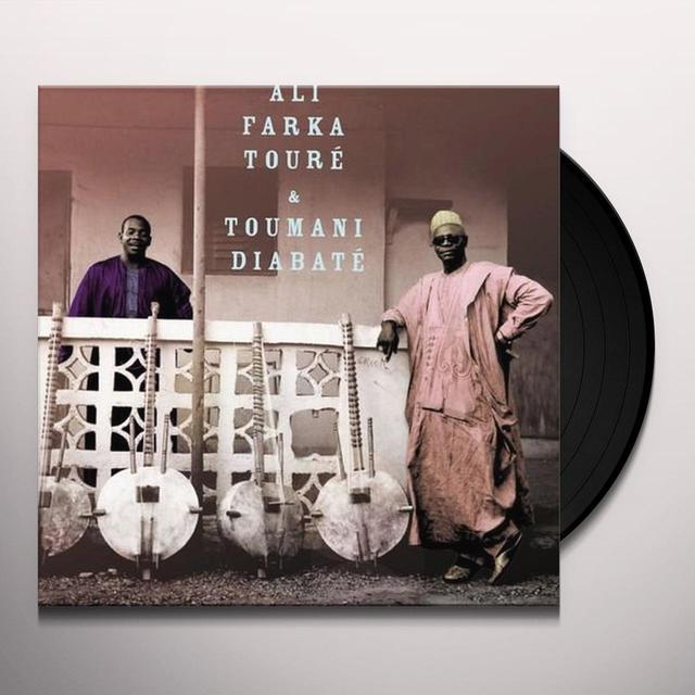 Ali Farka Toure & Toumani Diabate ALI & TOUMANI Vinyl Record - UK Release