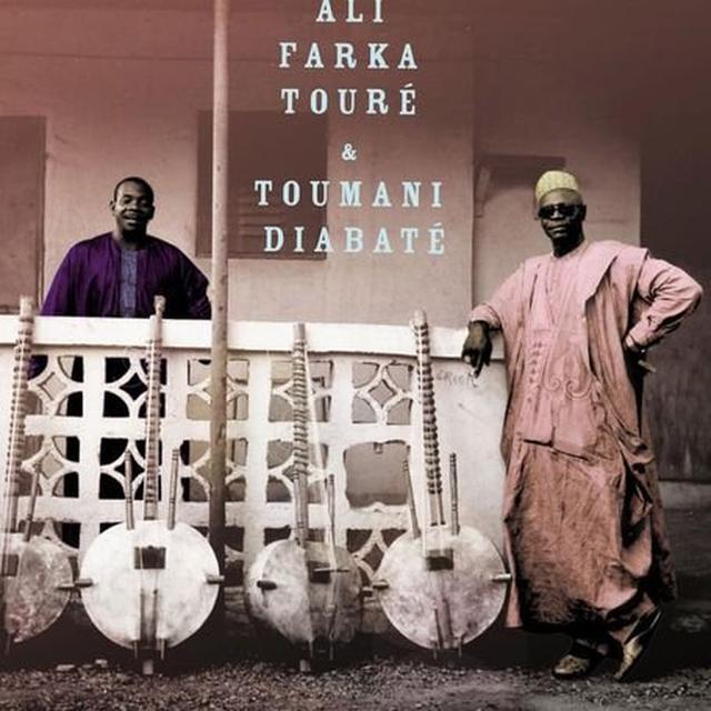 Ali Farka Toure & Toumani Diabate ALI & TOUMANI Vinyl Record - UK Import