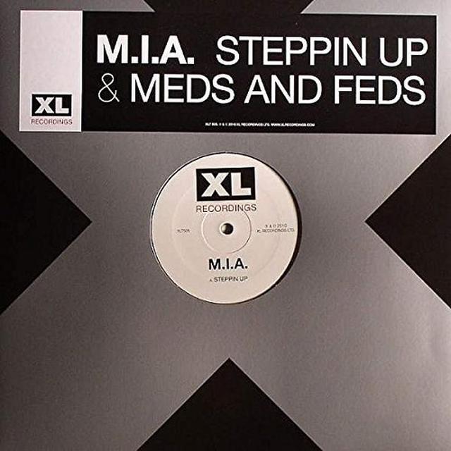 M.I.A STEPPIN UP Vinyl Record