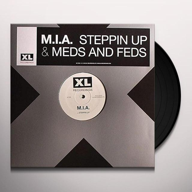 M.I.A STEPPIN UP Vinyl Record - Australia Import