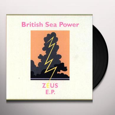 British Sea Power ZEUS EP Vinyl Record - UK Import