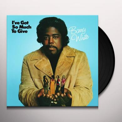 Barry White I'VE GOT SO MUCH TO GIVE Vinyl Record - Holland Import