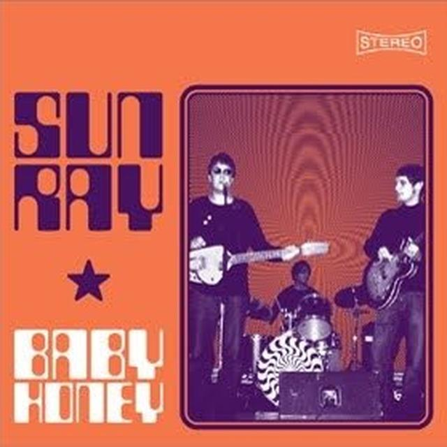 Sunray BABY HONEY EP Vinyl Record - UK Import