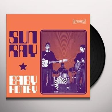 Sunray BABY HONEY EP Vinyl Record