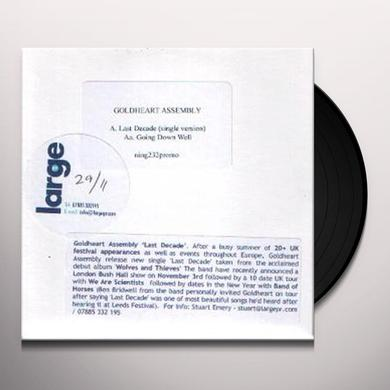 Goldheart Assembly LAST DECADE/GOING DOWN WELL Vinyl Record - UK Import