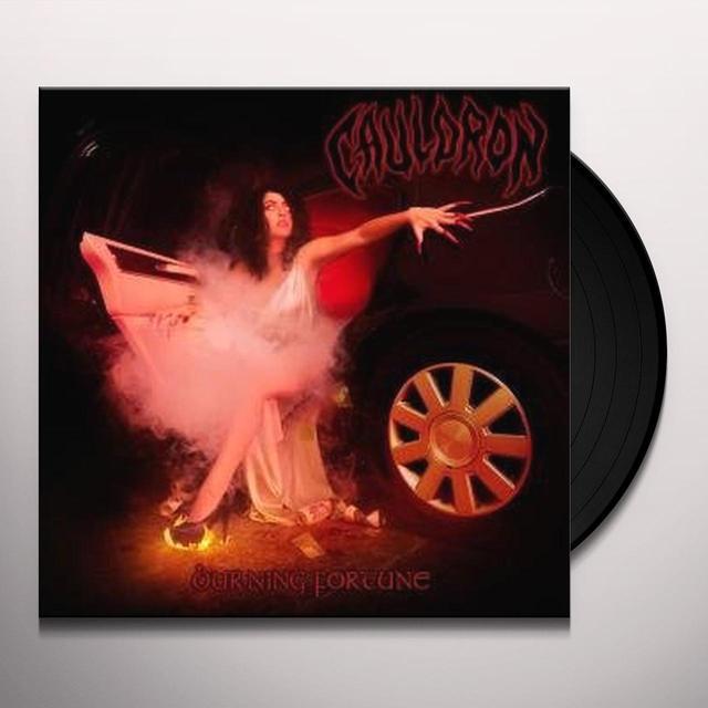 Cauldron BURNING FORTUNE Vinyl Record