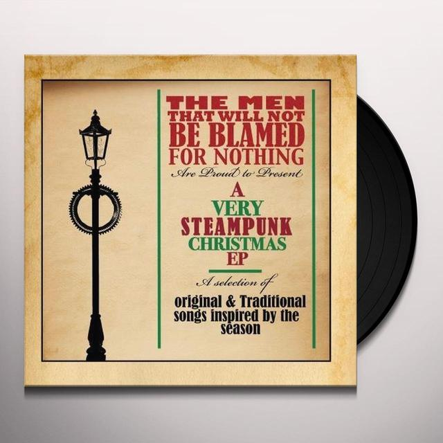 Men That Will Not Be Blamed For Nothing VERY STEAMPUNK CHRISTMAS EP Vinyl Record - UK Import