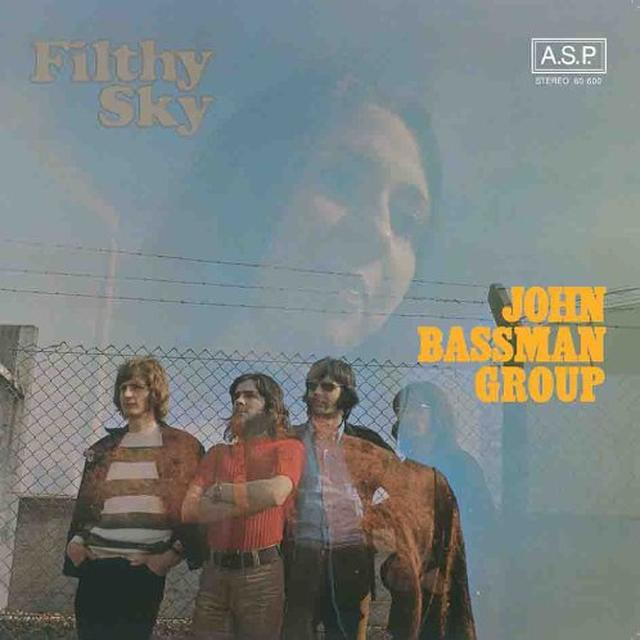 John Group Bassman FILTHY SKY Vinyl Record - Australia Import