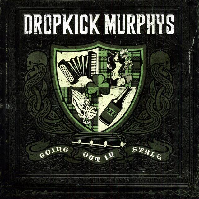 Dropkick Murphys GOING OUT IN STYLE Vinyl Record - UK Import