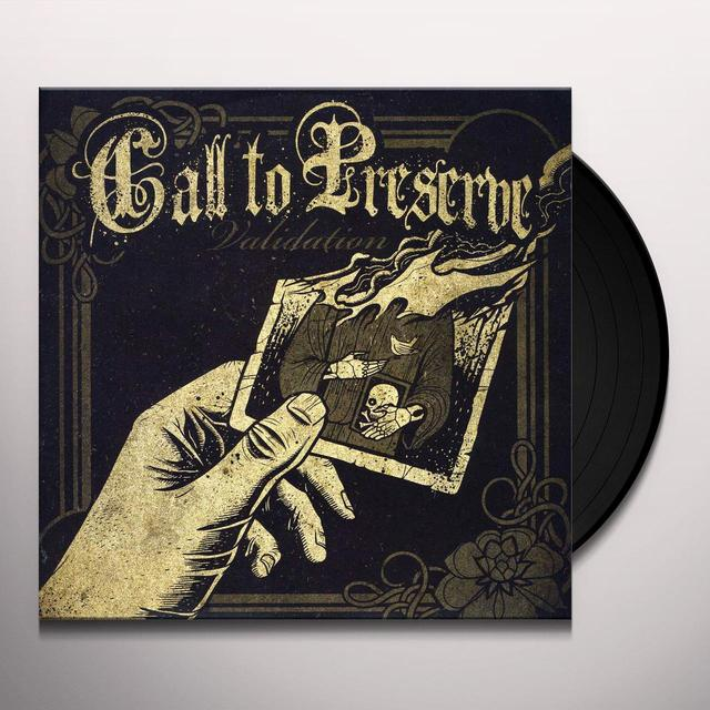 Call To Preserve VALIDATION Vinyl Record - UK Release