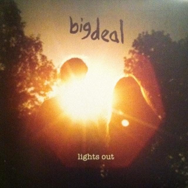 Big Deal LIGHTS OUT Vinyl Record - UK Import