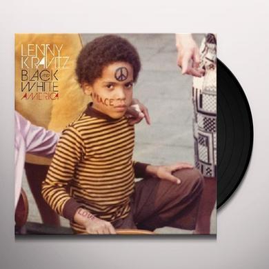 Lenny Kravitz BLACK & WHITE AMERICA Vinyl Record - Portugal Import