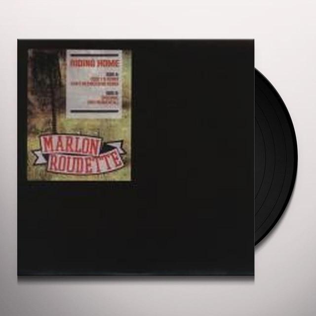 Marlon Roudette RIDING HOME Vinyl Record - UK Release