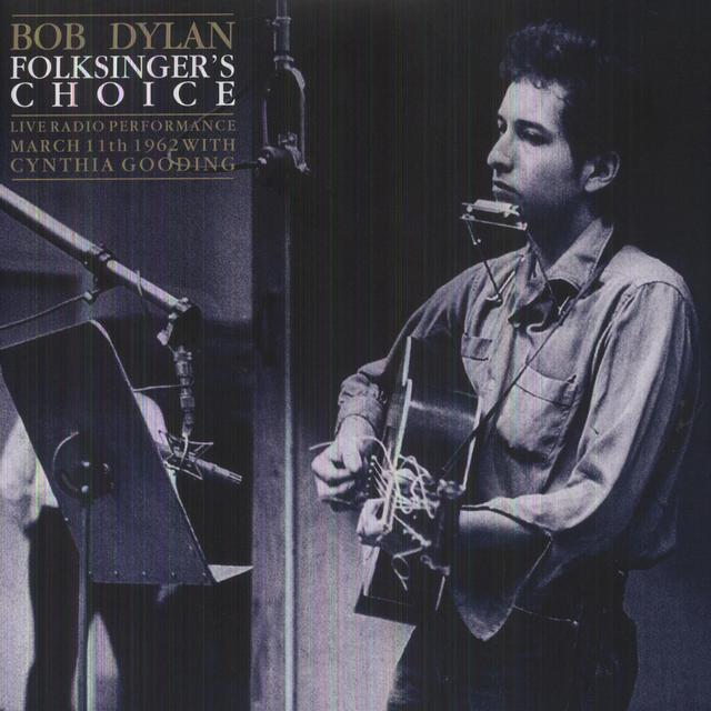 Bob Dylan FOLKSINGERS CHOICE (UK) (Vinyl)