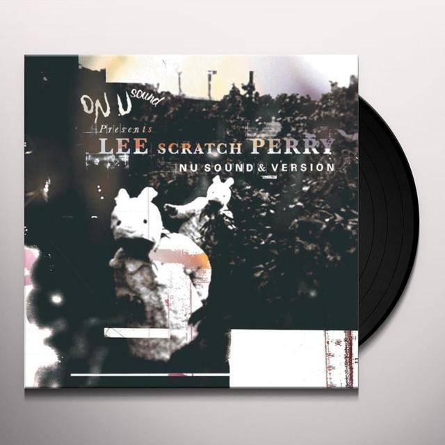 Lee Scratch Perry NU SOUND &VERSION Vinyl Record