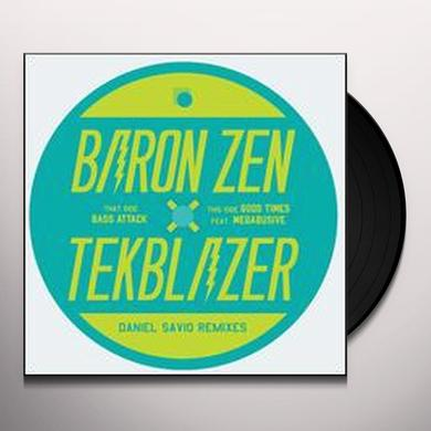 Baron Zen & Tekblazer BASS ATTACK/GOOD TIMES Vinyl Record