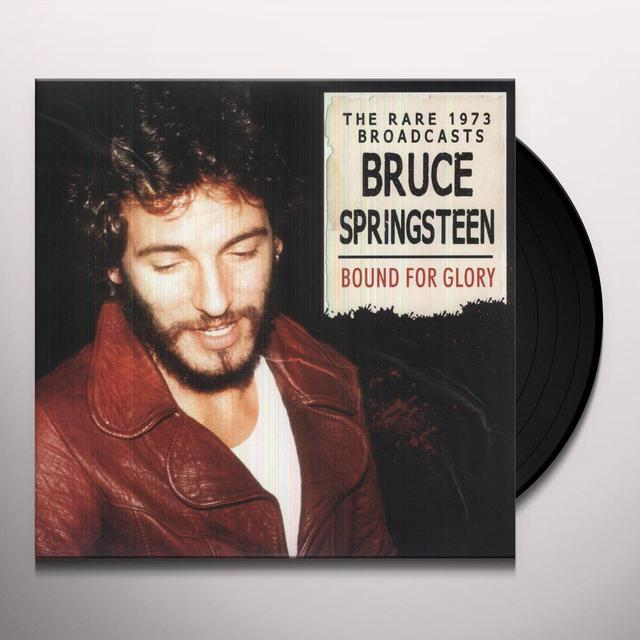 Bruce Springsteen BOUND FOR GLORY Vinyl Record - UK Import
