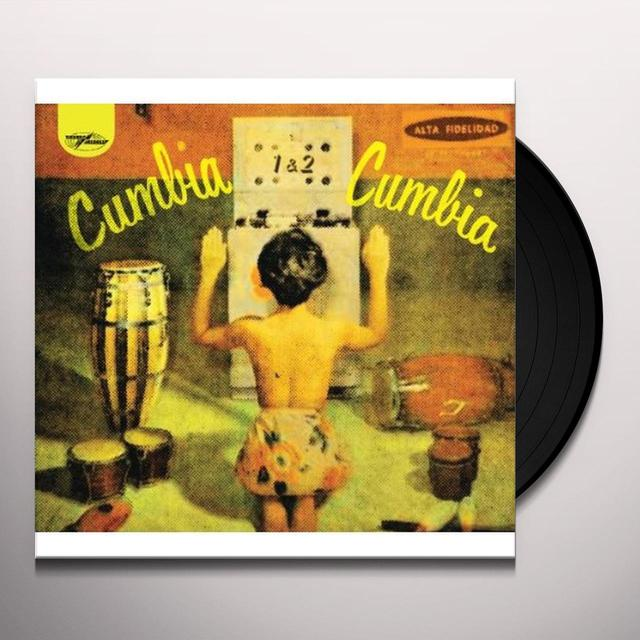 VOL. 1-2-CUMBIA CUMBIA Vinyl Record - UK Release