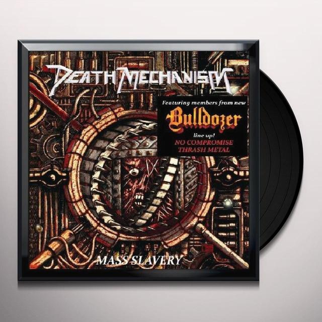 Death Mechanism MASS SLAVERY Vinyl Record