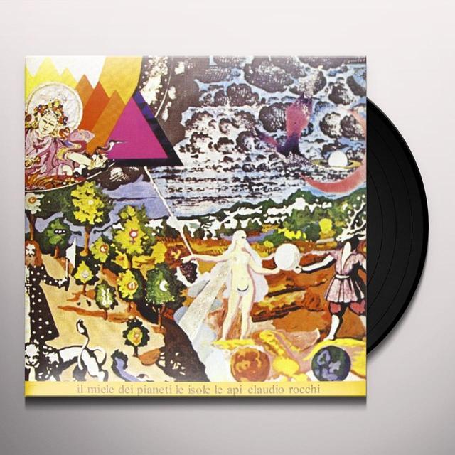 Claudio Rocchi IL MIELE DEI PIANETI LE ISOLE LE API Vinyl Record - Italy Import