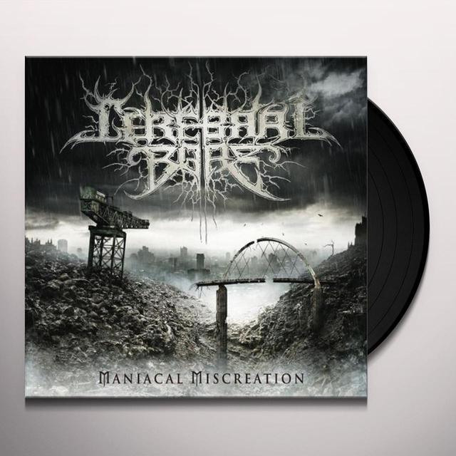 Cerebral Bore MANIACAL MISCREATION Vinyl Record