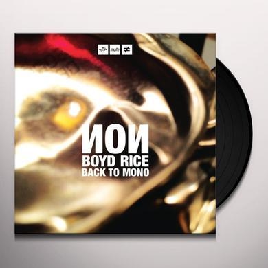 Non BACK TO MONO Vinyl Record - UK Import