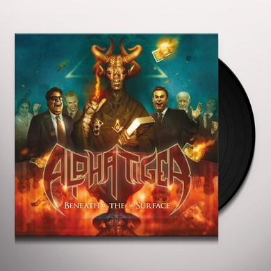 Alpha Tiger BENEATH THE SURFACE Vinyl Record - UK Release