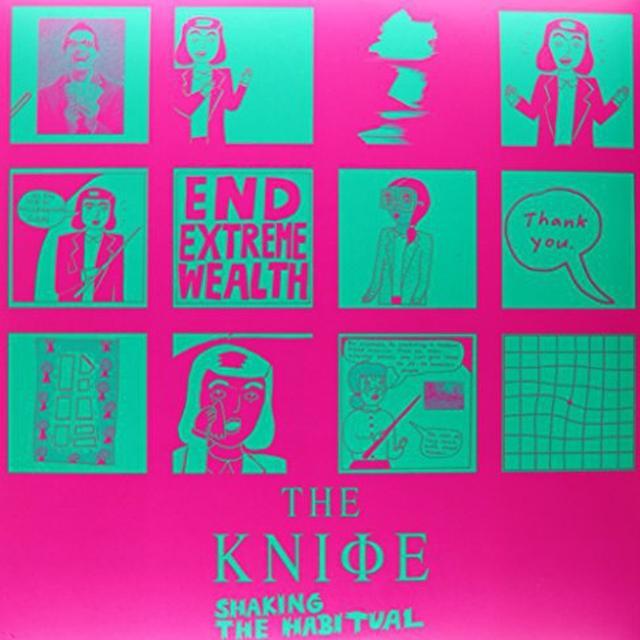 Knife SHAKING THE HABITUAL Vinyl Record - UK Import
