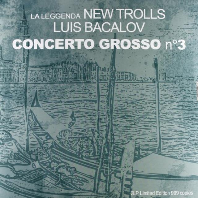New Trolls-La Leggenda CONCERTO GROSSO NO 3 Vinyl Record