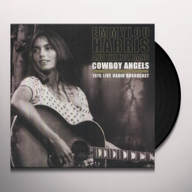 Emmylou Harris & The Hot Band COWBOY ANGELS Vinyl Record - UK Import