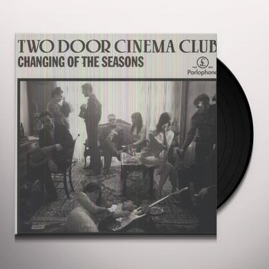 Two Door Cinema Club CHANGING OF THE SEASONS Vinyl Record - UK Import