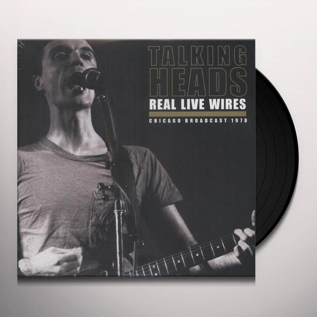 Talking Heads REAL LIVE WIRES (UK) (Vinyl)