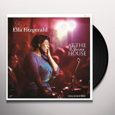 Ella Fitzgerald AT OPERA HOUSE Vinyl Record - Holland Import