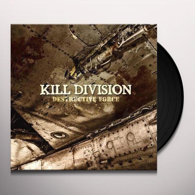 Kill Division DESTRUCTIVE FORCE Vinyl Record