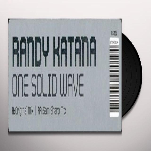 Randy Katana ONE SOLID WAVE (GER) Vinyl Record