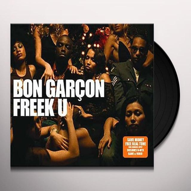 Bon Garcon FREEK U PT. 1 Vinyl Record - UK Release
