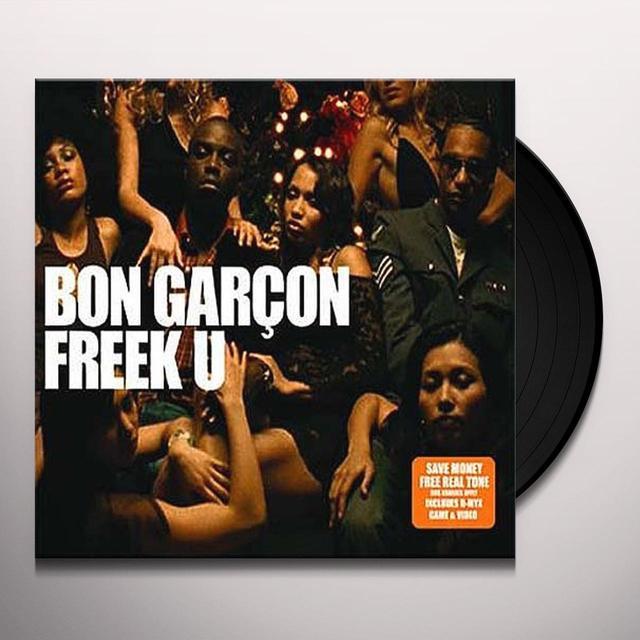 Bon Garcon FREEK U PT. 1 Vinyl Record - UK Import