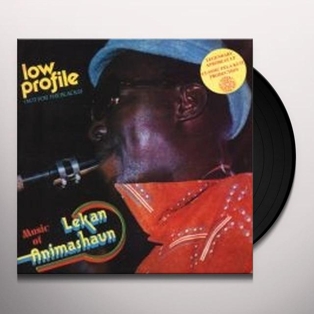 Lekan Animashaun LOW PROFILE Vinyl Record - Holland Import
