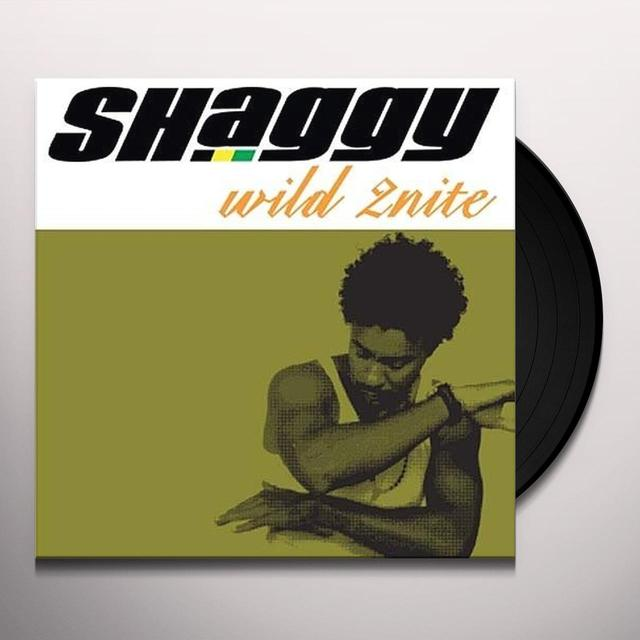 Shaggy WILD 2NITE Vinyl Record - UK Import